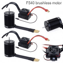 Load image into Gallery viewer, Brand New Surpass Hobby F540 Waterproof Brushless Motor ESC Set For 1/10 RC Car Model