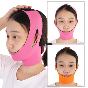 Face Lift Tools Thin Face Bandage Slimming Facial Thin Masseter Double Chin Skin Thin Face Bandage Belt Women Face Care Beauty Kit