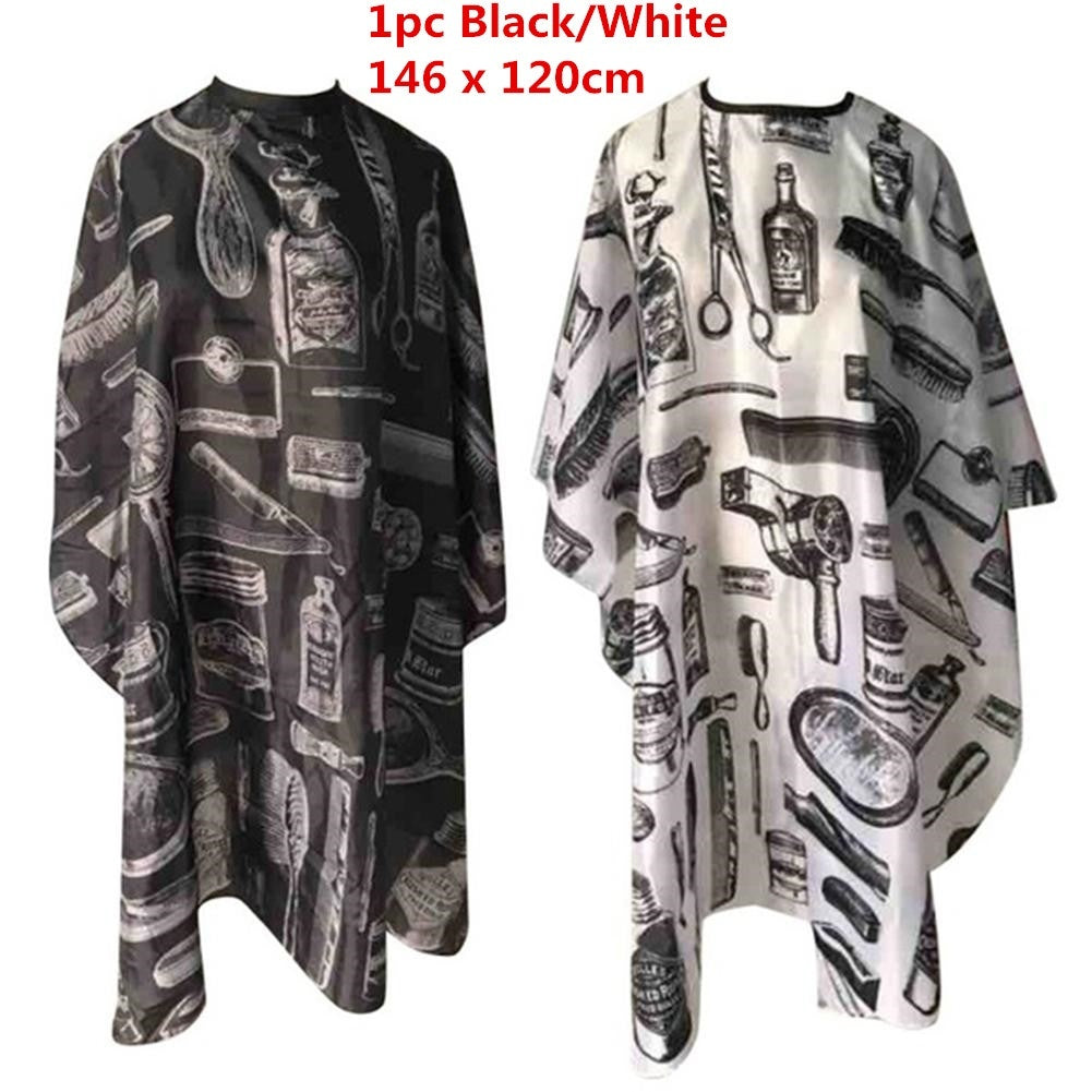 Waterproof Anti-static Printed Haircut Cloth Beauty Hair Cape Hairdressing Apron Barber Cape Hairdressing Cape Apronl