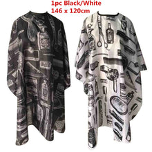 Load image into Gallery viewer, Waterproof Anti-static Printed Haircut Cloth Beauty Hair Cape Hairdressing Apron Barber Cape Hairdressing Cape Apronl