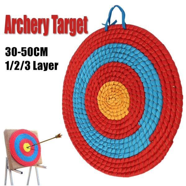 Handmade Four-color Antique Thick and Durable Straw Weave Arrow Target