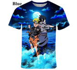 New Style kids Fashion t shirt Anime Naruto  Kakashi 3D Printed kids Cartoon Short Sleeved  T-shirt