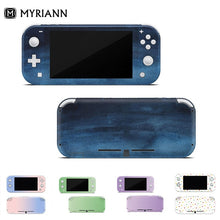 Load image into Gallery viewer, (Uper Version )Cute Pattern 3M Premium Vinyl Gradient Color Pastel Skin for Nintend Switch Lite Switch Sticker