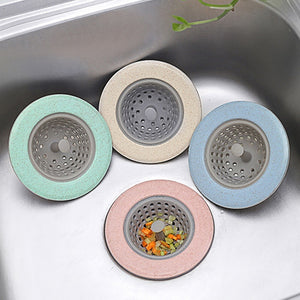 Kitchen Filter Kitchen Bathroom Sewer Sink Waste Strainer Hair Filter Leak Proof Drain Catcher Cover Bathroom Sink Hair Tool