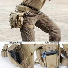 Load image into Gallery viewer, Full Platform Hot Sale!!!Newest Waterproof Tactical Military Leg Bag Men's Outdoor Sports Waist Bag Travel Hiking Camouflage Pouch