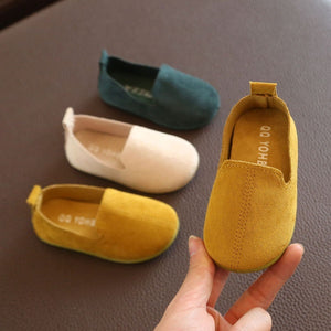 Cute Baby's Soft Shoes Super Soft Shoes for Girls and Boys Baby's Pre-walking Shoes