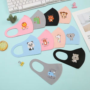 Kids Outdoor Washable Reusable Filter Bacteria Air Purifying Masks Kids Masks Dustproof Breathable