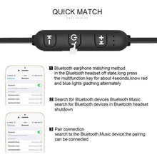 Load image into Gallery viewer, Magnetic Wireless Bluetooth Earphone XT11 Music Headset Phone Neckband Sport Earbuds Earphone with Mic for IPhone Samsung Xiaomi