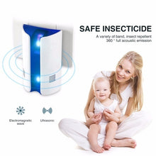 Load image into Gallery viewer, Multi-function Ultrasonic Electronic Repeller Repels Mice Bed Bugs Mosquitoes Spiders Insect Repellent Killer Electronic Pest Rejector Disinsectization