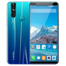 Load image into Gallery viewer, X27 Plus Android 8.0 Smartphone 5.0/5.8 Inches Full Screen HD Large Memory 4GB 64GB Ultra-thin Face/fingerprint Unlock Dual Card Phone Supports T-card Smartphone