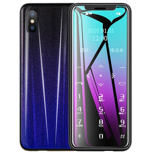 Taiml Mini Mobile Phone Ultra-thin  Phone with Mp3 Bluetooth 1.54 Inch Dual Card Dual Standby Cell Phone