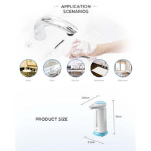Load image into Gallery viewer, Automatic Liquid Cleaning Mobile Phone Infrared Intelligent Sensor Soap Dispenser Hand Soap Sensor