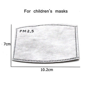 Mouth Mask Children Thicken Cotton Mouth Mask Anti Dust PM2.5 Mask Cute Bear Cartoon Animal  Mask