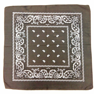 New Unisex Head Wrap Bandanas Many Colors Cool Paisley Bandanna Hip Hop Scarf  Gifts for Fiends