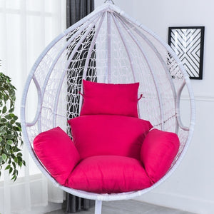 9 Colors Swing Chair Cushion Mat Hanging Indoor Outdoor Patio Egg Chair Seat Pad Pillow (Without Chair)