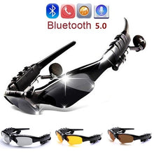 Load image into Gallery viewer, Classic Bluetooth Audio Sunglasses Smart Driving Goggles Bluetooth Sunglasses Earphones Outdoor Sport Glasses Wireless Headset with Mic