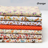 2pcs/5pcs/7pcs 25x25cm 50x50cm Cotton Fabric Printed Cloth Sewing Quilting Fabrics for Patchwork Needlework DIY Handmade Material