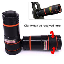 Load image into Gallery viewer, Hot Optical Clip Telephoto Telescope Camera Lens for Smart Phone,Transform Your Phone Into A Professional  Camera