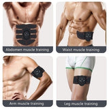 Fitness Body Massage Pad EMS Hip Trainer Abdominal Trainer Stimulator Training Abs Fitness Muscle Abdominal Trainer Device