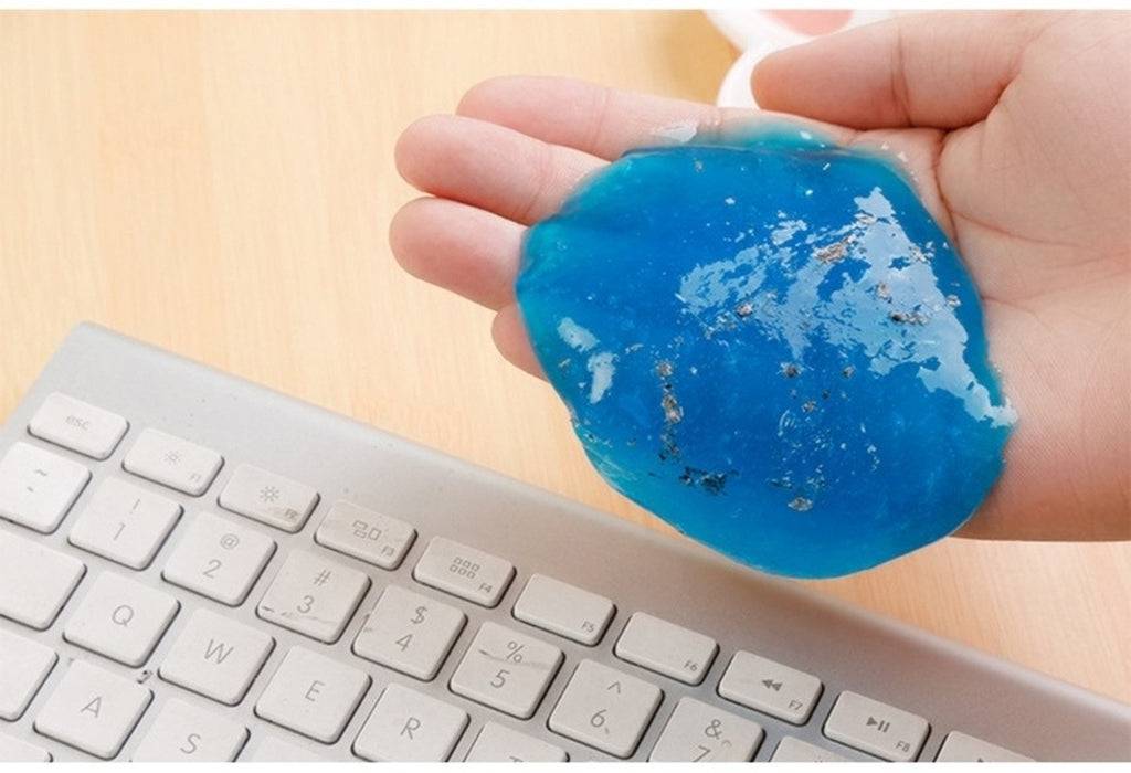 60ml Slime Lizun for Keyboard Cleaner Glue Magic Gel Super Dust Clay Clean Mud Supplies Portable Keyboard Toys