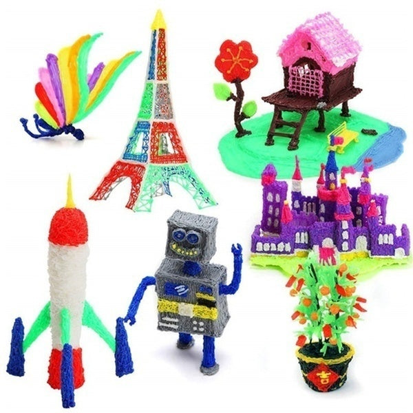 Hobbies 3D Pen 3D drawing materials PLA filament Magic 3D Drawing Printing Printer Pen Kids Toys Optional 20 Colors PLA Filament Refill for Kids Adults Arts Crafts Model DIY