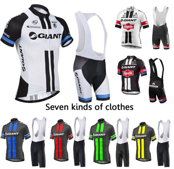 2020 summer GIANT Cycling Jersey Pro Team  Alpecin Ropa Ciclismo Hombre Short Bike Mtb Cycling Clothing Bicycle