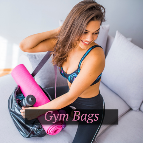gym bags for women and waist bags fanny packs