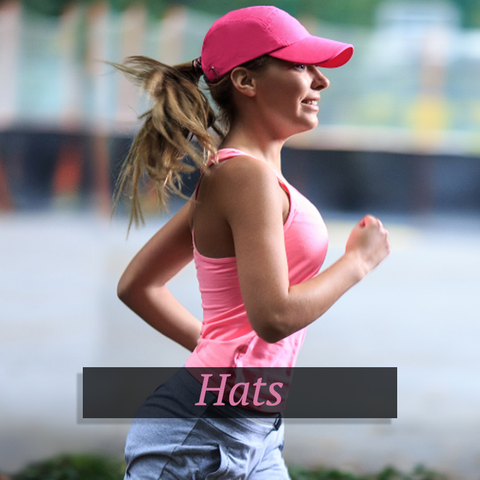 gym and workout hats and caps for women