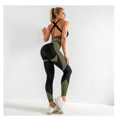 Alexa Anti-Cellulite 2pc Yoga Set - Leggings/Bra