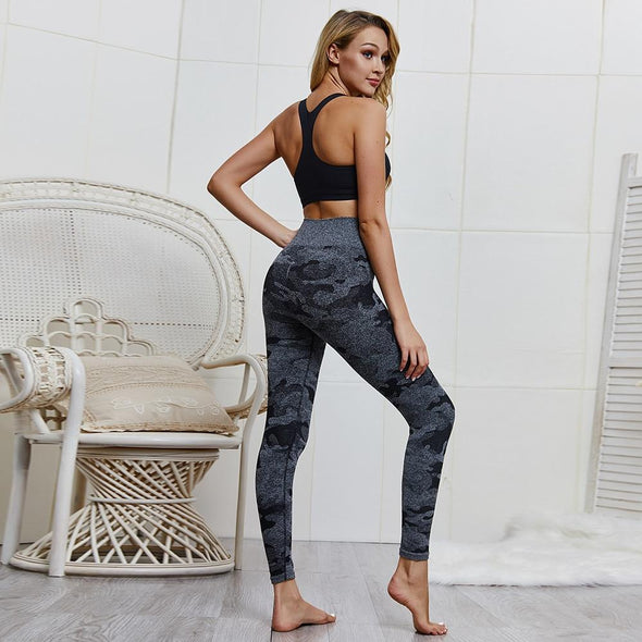Audrey Camo High Waist Leggings