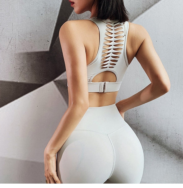 Hazel Ultra Seamless Yoga Set