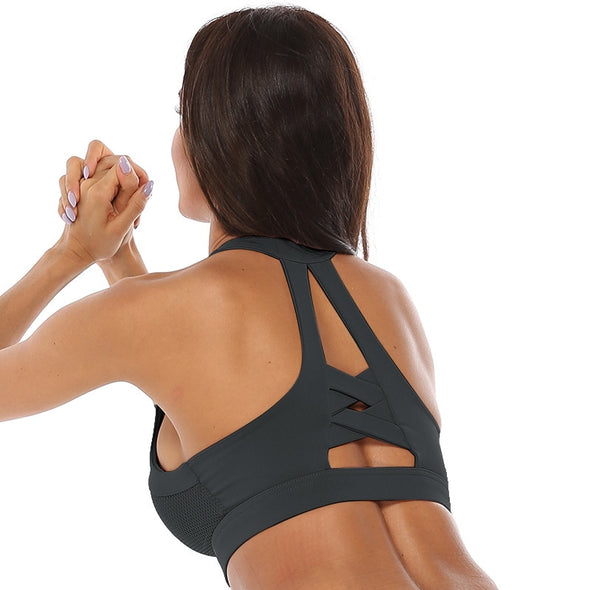 Nia Racerback Sports Bra - 25% OFF FOR A LIMITED TIME
