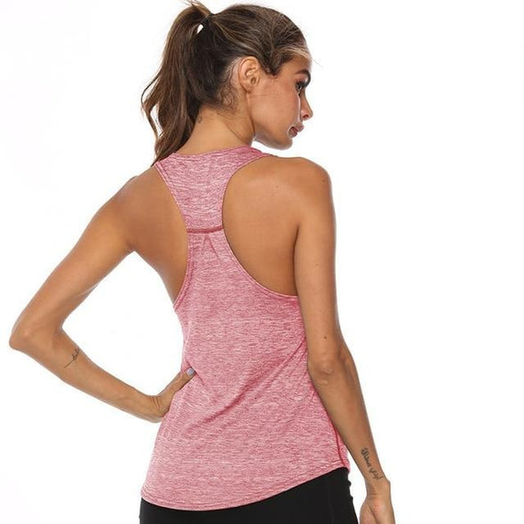 Zina Racerback Tank Top - 20% OFF FOR A LIMITED TIME