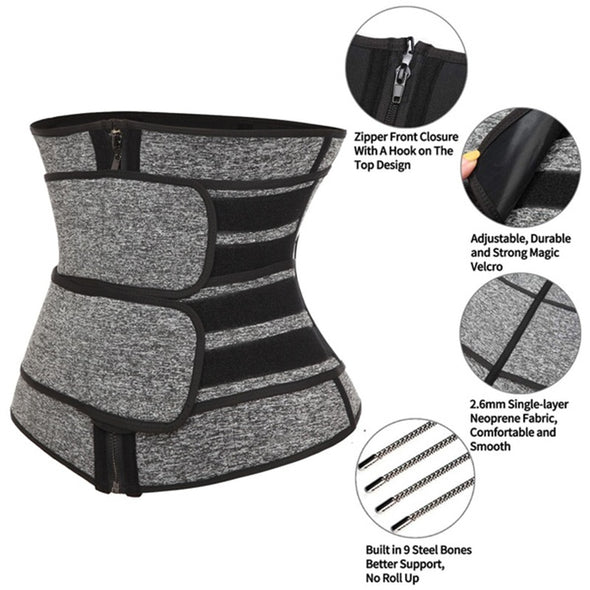 Slimmer Double Belt Waist Trainer - 25% OFF FOR A LIMITED TIME