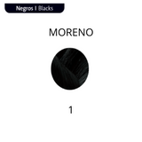 NOUGAT Color Kit natural  Brillo con Color Nº 1 Moreno