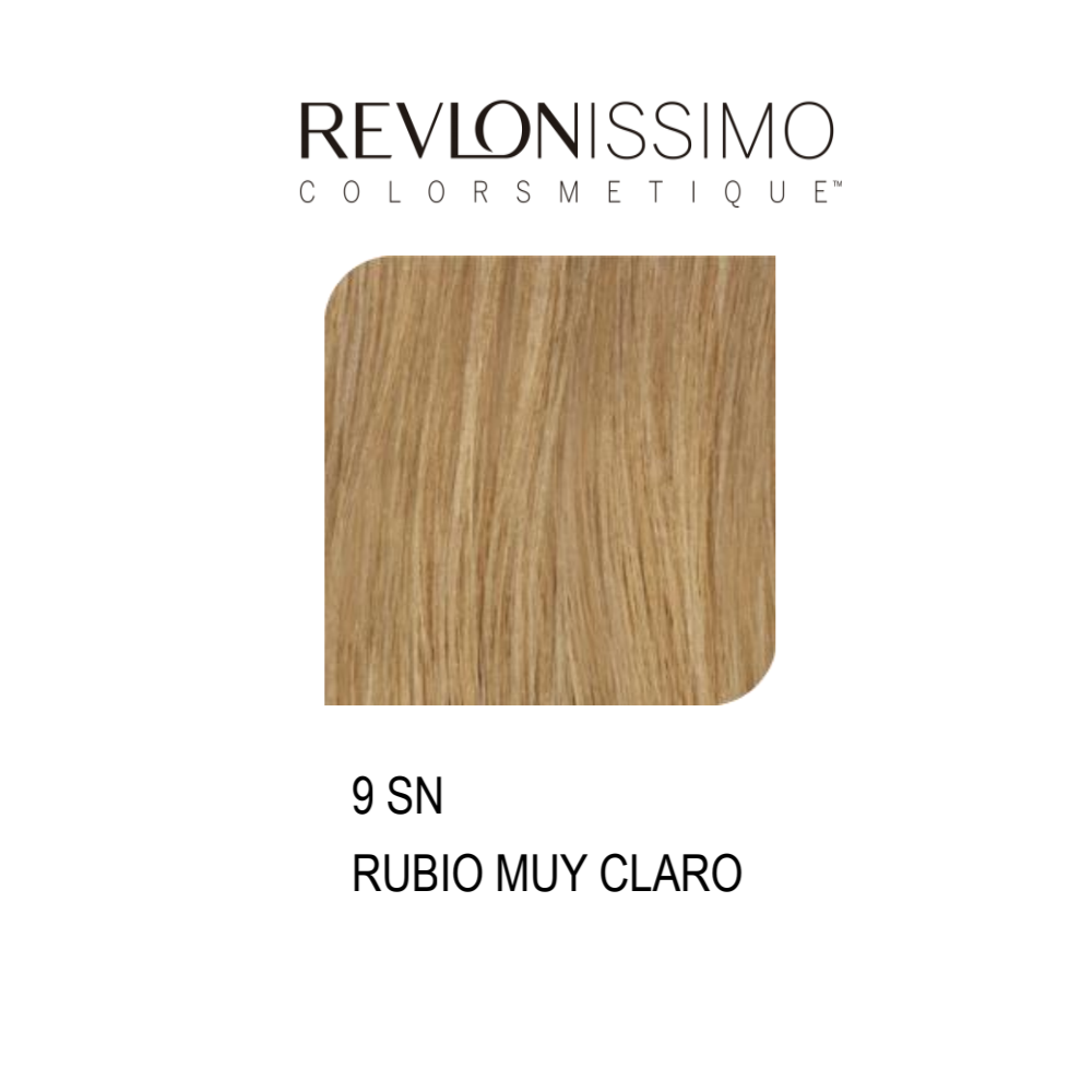 REVLON COLORSMETIQUE CREMA GEL 9SN  RUBIO MUY CLARO 60ML.