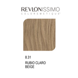 REVLON COLORSMETIQUE CREMA GEL 8.31 RUBIO CLARO BEIGE 60ML.