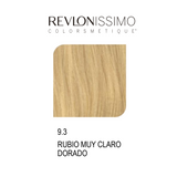 REVLON COLORSMETIQUE CREMA GEL  9.3 RUBIO MUY CLARO DORADO 60ML.