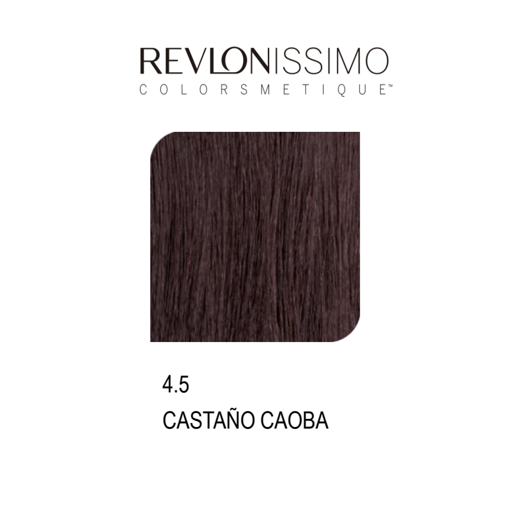REVLON COLORSMETIQUE CREMA GEL 4.5 CASTAÑO CAOBA 60ML.