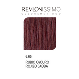 REVLON COLORSMETIQUE CREMA GEL 6.65 RUBIO OSCURO ROJIZO CAOBA 60ML.