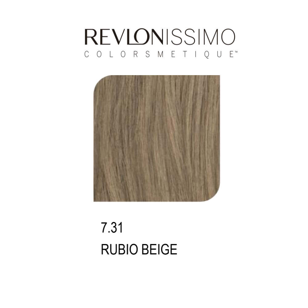 REVLON COLORSMETIQUE CREMA GEL 7.31 RUBIO BEIGE 60ML.