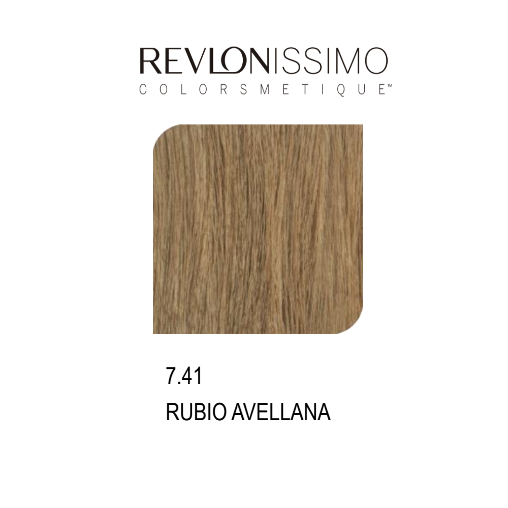 REVLON COLORSMETIQUE CREMA GEL 7.41 RUBIO AVELLANA 60ML.