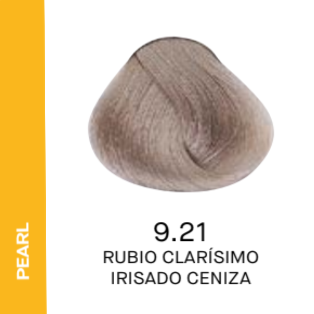 YELLOW COLOR 9.21 RUBIO CLARÍSIMO IRISADO CENIZA 60ML