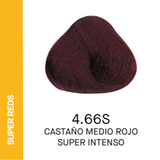 YELLOW COLOR 4.66S CASTAÑO MEDIO ROJO SUPER INTENSO 60ml