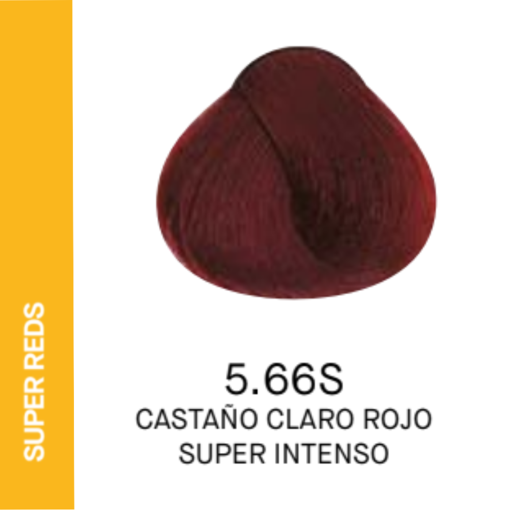 YELLOW COLOR 5.66S CASTAÑO CLARO ROJO SUPER INTENSO 60ml