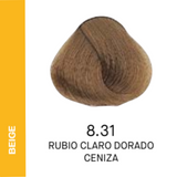 YELLOW COLOR 8.31 RUBIO CLARO DORADO CENIZA 60ML