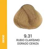YELLOW COLOR 9.31 RUBIO CLARÍSIMO DORADO CENIZA 60ML