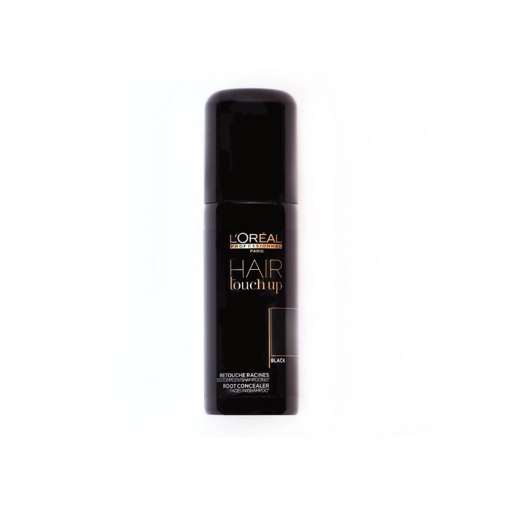 LOREAL HAIR TOUCH UP BLACK 75ML -14337