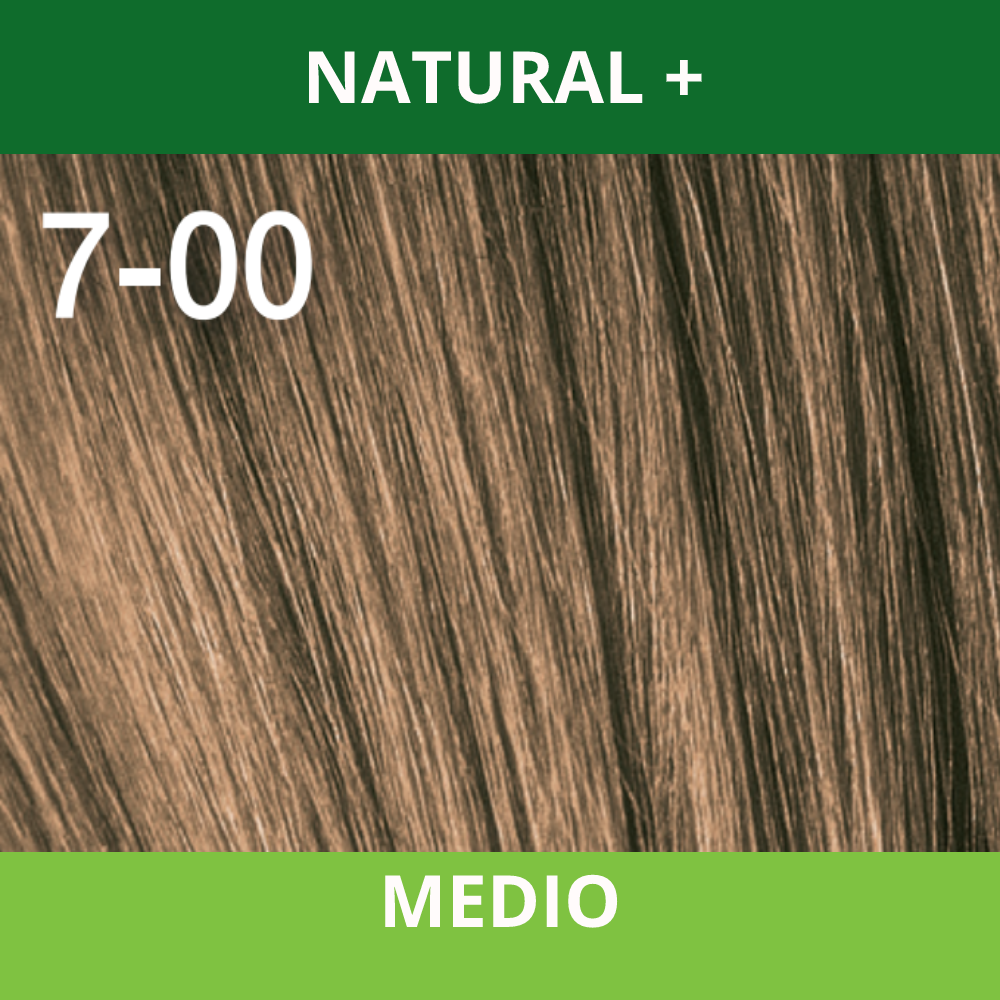 SCHWARZKOPF TINTURA ESSENSITY 7-00 Rubio Medio Natural + /Louro Medio Natural + 60 ML