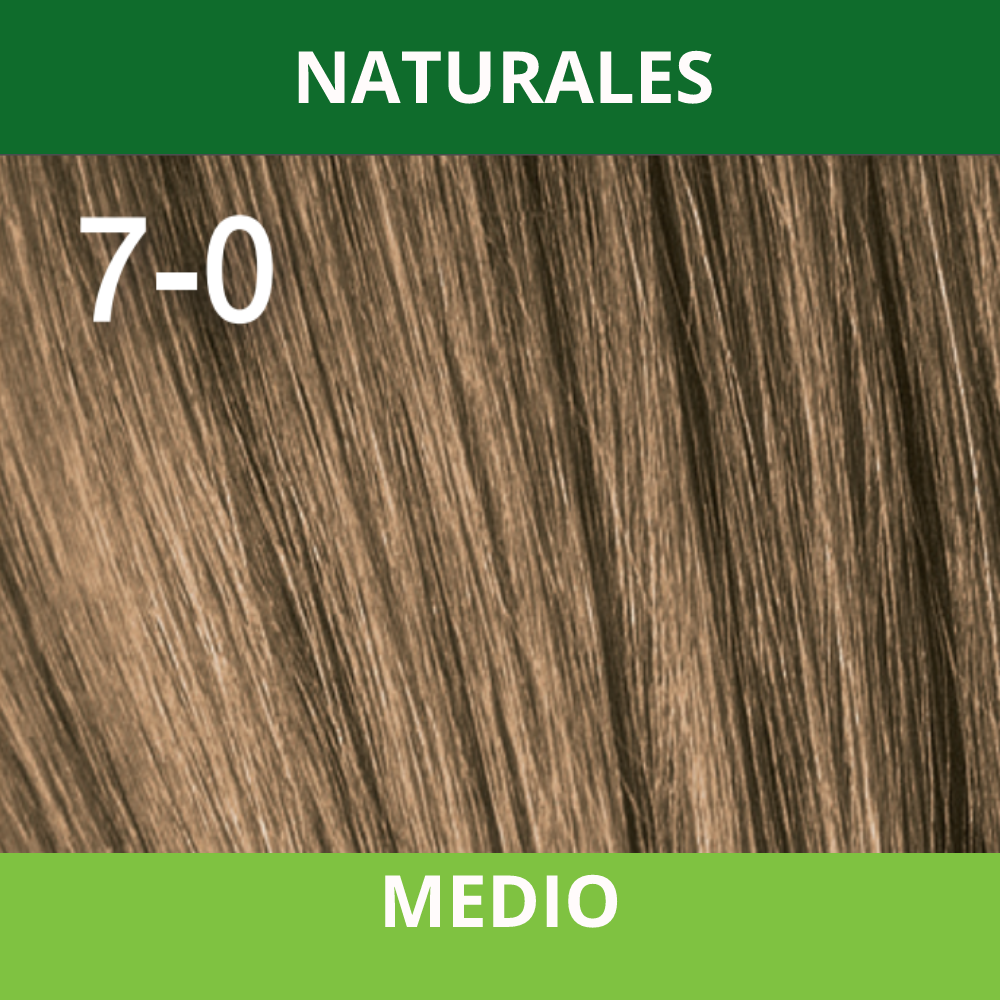 SCHWARZKOPF TINTURA ESSENSITY 7-0 Rubio Medio /Louro Medio 60 ML